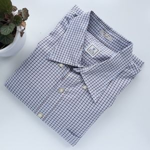 Peter Millar Mens XL Button Down Cotton Shirt